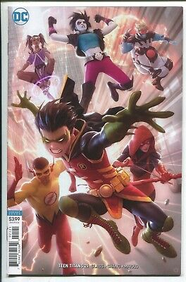 Teen Titans #21 - Alex Garner Virgin Art Variant Cover - Dc Comics/2018