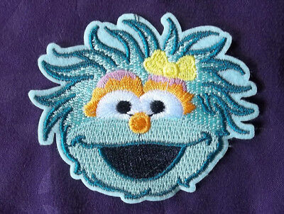 Rosita Patch Embroidered Patch Sesame Street Muppets Diy
