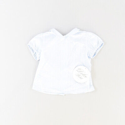 Camisa color Azul marca Dolce Petit 6 Meses  513954