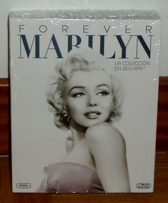 Forever Marilyn-Pack Collection 7 Blu-Ray-Nuevo-Precintado-Drama-Cine Classic