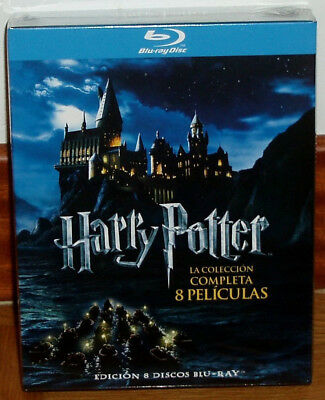 Harry Potter The Collection Complete 1-8-Blu-Ray Sealed New (Unopened) R2