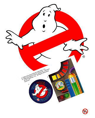 Replacement sticker/label/decal sheet Kenner Ghostbusters DIE CUT Ghost Nabber