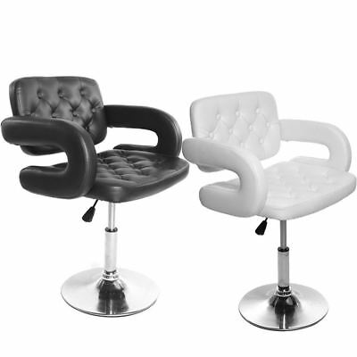 Modern Adjustable Beauty Salon Chair Barber Tub Hairdressing Hair Cut Leather
