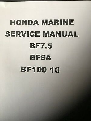 Honda bf2a 2hp outboard engine owners manual 1499 picclick uk honda bf100 10hp 75hp 8hp full service manual outboard engine publicscrutiny Gallery