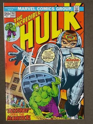 Incredible Hulk #167 Marvel Comics Unsatmped Cents