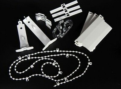Vertical Blind Accessories 89mm Weights Chains Brackets and Hangers.Spare parts