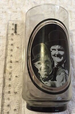 Vintage  Arby's Collector's Series #3 -  Laurel & Hardy Drinking Glass