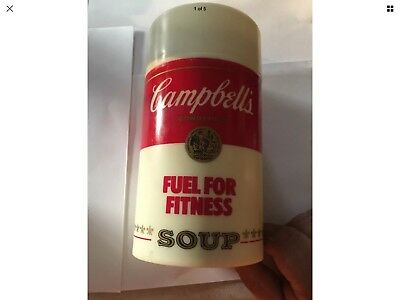 Vintage Campbells Soup Thermos Soup Is Good Food Fuel For Fitness