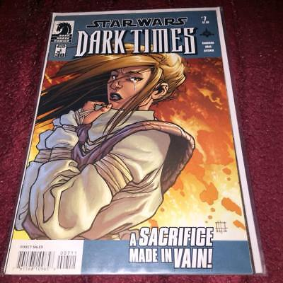 star wars dark times #7 DARK HORSE COMICS with dust cover