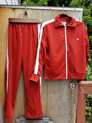 Vintage 70's JOX By Thom McAn Track Suit New Dead Stock! WOW! SIZE SMALL