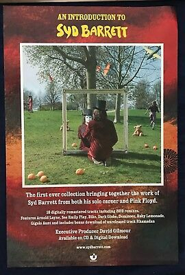 """Syd Barrett ~ An Introduction To..   Us """"Harvest""""  Promo Poster   Pink Floyd"""