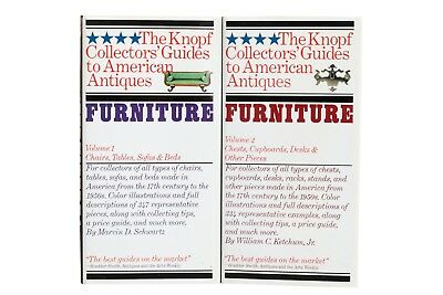 Furniture 1 & 2, the Knopf Collectors' Guides to American Antiques