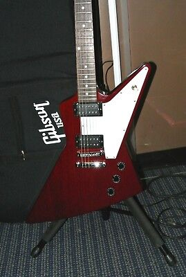 2016 GIBSON USA Explorer Wine Red w/ Stew Mac Golden Age Pickups and Gig Bag