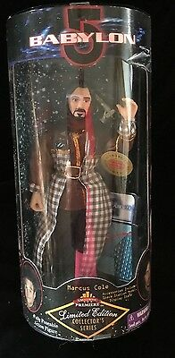 """MARCUS COLE BABYLON 5 Limited Edition Collector's Series 9"""" Posable Figure NIB"""