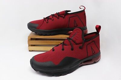 Nike Air Max Flair SE Running Shoes Team Red Black AA3824-600 Men's NEW