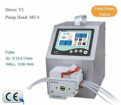 Flow Rates Peristaltic Pump Intelligent Type V1 0.000166-570 mL/min MC4-10R