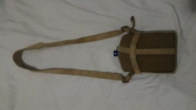WW2 WWII Canadian Canada British Pattern 37 Webbing Canteen & Cover