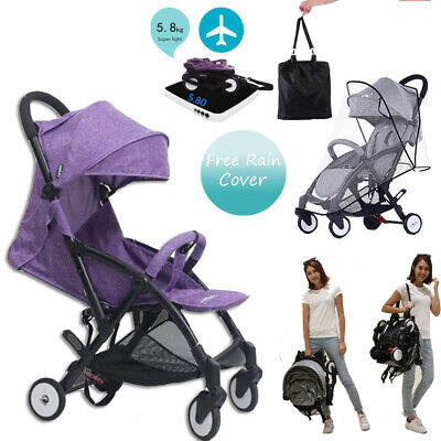 Baby Stroller Pushchair Foldable Buggy Lightweight Jogger Travel Carriage