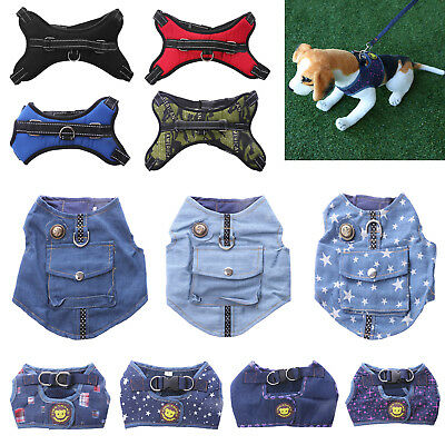 Pet Vest Traction Rope Puppy Dog Chest Leash Walking Strap Harness Accessories