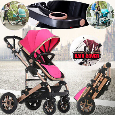 9 in1 Baby Stroller Newborn Carriage Infant Travel Buggy Foldable Pram Pushchair