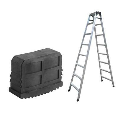Black 2PCs Rubber Ladder Feet Non-Slip Step Ladder Grip Feet Foot Replacement