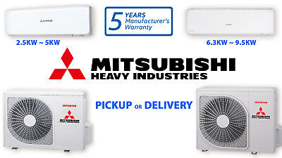 Mitsubishi Heavy Split System Inverter Reverse Cool Heat Air Conditioner MHI R32