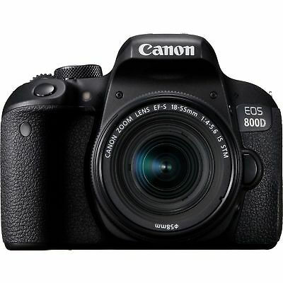 Canon EOS 800D Kit EF-S 18-55mm f/4-5.6 IS STM Obiettivo