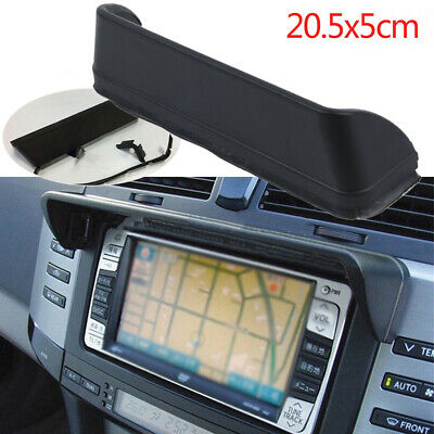 Universal Anti-Glare In Dash Car Radio GPS Screen Monitor Sun Shade Visor 20.5cm