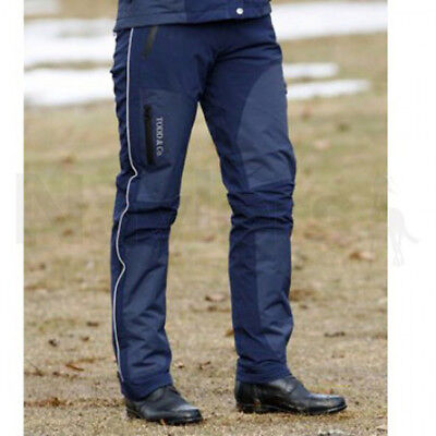 Mark Todd Ladies Reinga Navy Stretch Waterproof Riding Equine Trousers