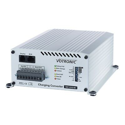 Votronic 50A 12V DC to 12V DC automatic multi-stage battery to battery charger