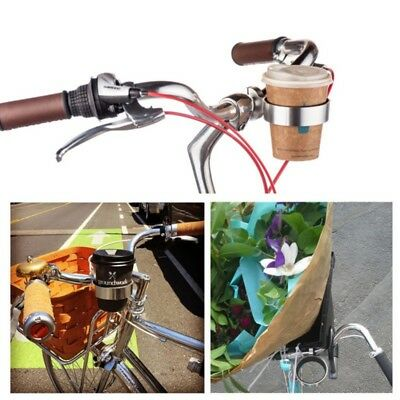 Bike Bicycle Cup Holder Bike Coffee Drinks Cup Clip Holder Handlebar Mount Cage
