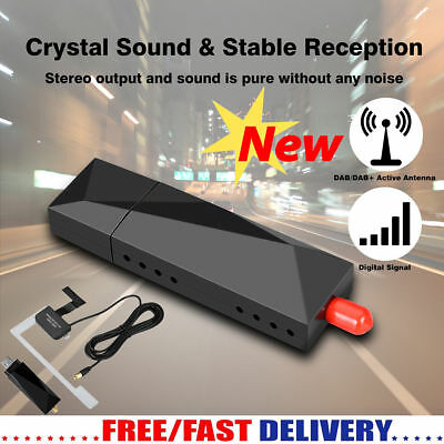 USB Dongle DAB+ Digital Radio Tuner Receiver for XTRONS Android 7.1/8.0 Car DVD