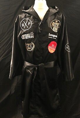 Tyson Fury Hand Signed Fight Replica Robe RARE COA