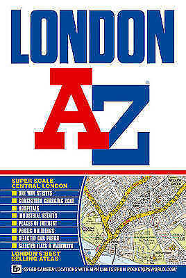 """VERY GOOD"" London Street Atlas (paperback) (A-Z Street Atlas), Geographers A-Z"