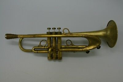 Trumpet Harrelson Summit one Custom in Raw Brass