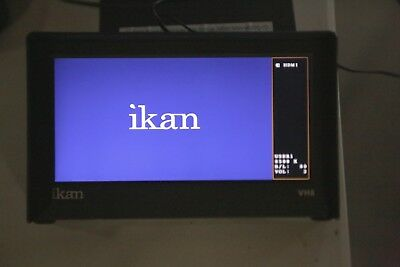 ikan VH8 8-inch HDMI Monitor w/ HD Panel and LP-E6 battery plate