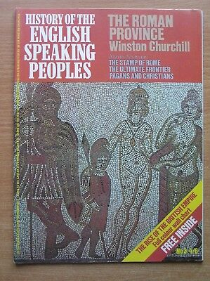 HISTORY of the ENGLISH SPEAKING PEOPLES - Issue No 3 1969 - Includes Wall Chart