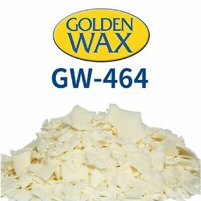 Golden Wax 464 - Soy Wax for Container Tealight Candles (1kg)