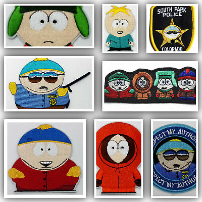 South Park TV Series Patch Collection -> 8 Different --> Your Choice