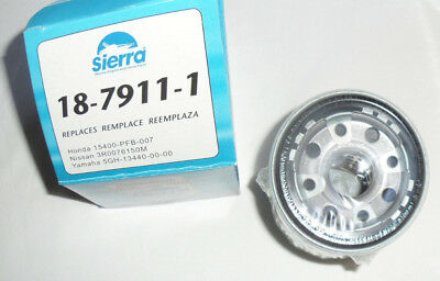 Sierra Boat Marine Replacement Outboard Oil Filter 18-7911-1 Honda Yamaha Nissan