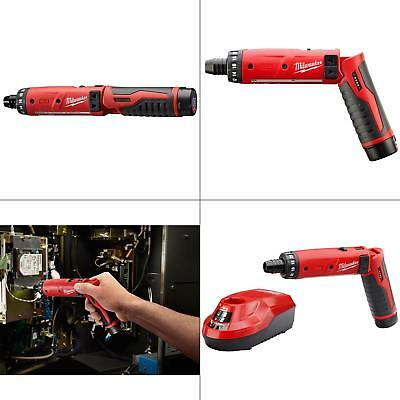 M4 4-Volt Lithium-Ion Cordless 1/4 in. Hex Screwdriver 1-Battery Kit NEW