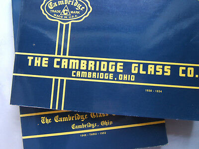 The Cambridge Glass Company Vol 1 2 1930-1934 & 1949-1953 Collectors