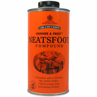 CARR & DAY & MARTIN NEATSFOOT COMPOUND (500ml or 1lt horse pony leather soft oil
