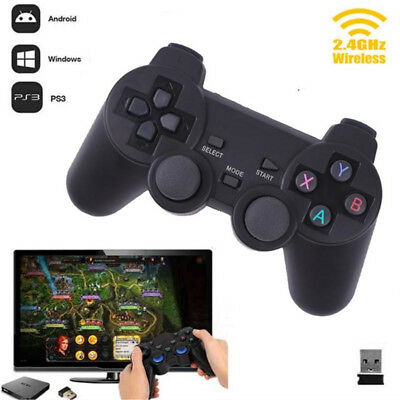 2.4G Wireless Gamepad Joystick Joypad Controller PC For PS3 TV Box Game Remote