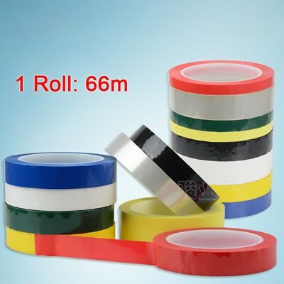 66m - PVC Floor Labeling Location Marking Adhesive Tape Warning Marker Tape