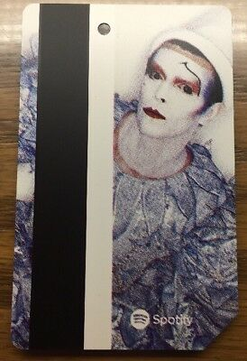 RARE David Bowie - Ashes to Ashes NYC MTA Subway MetroCard ONE Unused New Card