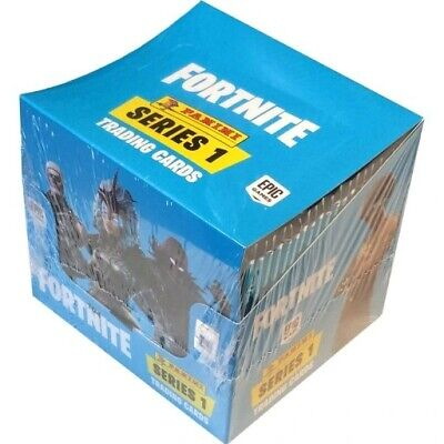 Panini Fortnite Trading Cards Series 1 Box Display 48 Boosters