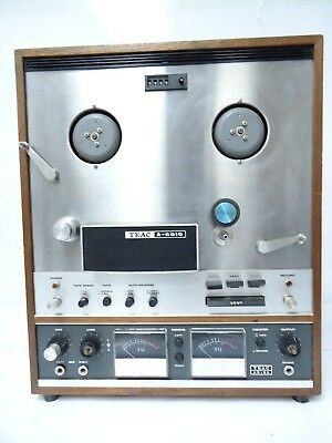 Vintage Teac A-6010 Stereo Open Reel-To-Reel Tape Deck Recorder Player Japan