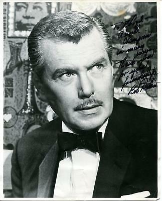 Bob Robert Hutton Autograph Actor In Tales From The Crypt The Saint Signed Photo