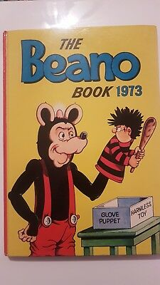 💟BEST PRICE💟The beano Book 1973 Annual 1st Edition